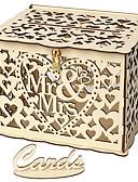 ราคาถูก ของชำร่วยงานแต่งที่แขวน-เครื่องประดับ ไม้ 1set งานแต่งงาน