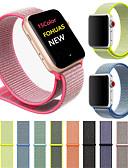 זול להקות Smartwatch-צפו בנד ל Apple Watch Series 4/3/2/1 Apple רצועת ספורט ניילון רצועת יד לספורט
