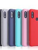 povoljno Maske za mobitele-Θήκη Za Xiaomi Xiaomi Redmi Note 5 Pro / Xiaomi Redmi Note 6 / Xiaomi Redmi Note 7 Ultra tanko / Mutno Stražnja maska Jednobojni Mekano TPU / Xiaomi Redmi Note 4X
