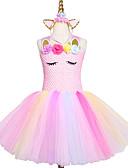 זול שמלות לתינוקות-בנות ורוד בעבודת יד טוטו השמלה טול נסיכה ילדים שנה חדשה תלבושות vestidos מתנה