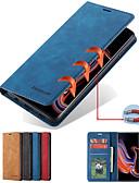ราคาถูก เคสสำหรับโทรศัพท์มือถือ-Case สำหรับ Huawei Huawei P20 / Huawei P20 Pro / Huawei P20 lite Card Holder / with Stand / Magnetic ตัวกระเป๋าเต็ม สีพื้น Hard หนัง PU