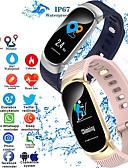 baratos Smart watch-S3 pulseira inteligente bluetooth rastreador de fitness suporte monitoramento da freqüência cardíaca / calorias queimadas esportes relógio inteligente para samsung / iphone / android phones