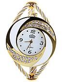baratos Camisas Masculinas-Mulheres Relógios de Quartzo Fashion Elegante Preta Prata Dourada Paracord Quartzo Vermelho Rosa Roxo Criativo 1 Pça. Analógico Um ano Ciclo de Vida da Bateria
