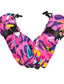 ราคาถูก สไตลตุ๊กตาเบบี้-ถุงมือฤดูหนาว สำหรับผู้ชาย สำหรับผู้หญิง กีฬาหิมะ เต็มนิ้วมือ ฤดูหนาว กันน้ำ รักษาให้อุ่น ซึ่งยืดหยุ่น ยูรีเทนโพลี Skiing กีฬาหิมะ Snowboarding