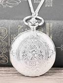 ราคาถูก นาฬิกาสำหรับผู้ชาย-สำหรับผู้ชาย นาฬิกาแบบพกพา นาฬิกาอิเล็กทรอนิกส์ (Quartz) เงิน นาฬิกาใส่ลำลอง ปุ่มหมุนขนาดใหญ่ ระบบอนาล็อก ไม่เป็นทางการ แฟชั่น - สีเงิน / สีขาว