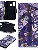 ราคาถูก เคสซัมซุง-Case สำหรับ Samsung Galaxy A6 (2018) / A6+ (2018) / Galaxy A7(2018) Wallet / Card Holder / with Stand ตัวกระเป๋าเต็ม สัตว์ / การ์ตูน Hard หนัง PU