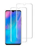 billige Skjermbeskytter for Samsung-HuaweiScreen ProtectorHuawei P30 Høy Oppløsning (HD) Skjermbeskyttelse 2 Stk. Herdet Glass