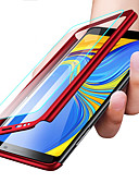 baratos Acessórios para Samsung-Capinha Para Samsung Galaxy S9 / S9 Plus / S8 Plus Antichoque / Ultra-Fina / Áspero Capa Proteção Completa Sólido Rígida PC