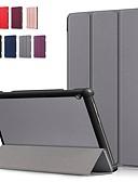 ราคาถูก กรณีอื่น ๆ-Case สำหรับ Lenovo Lenovo Tab E10 (TB-X104) / Lenovo Tab M10 (TB-X605F) / Lenovo Tab P10 (TB-X705F / L) Shockproof / Flip / Origami ตัวกระเป๋าเต็ม สีพื้น Hard หนัง PU