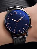 baratos Smart watch-Homens Relógio Elegante Quartzo Preta Não Relógio Casual Legal Analógico Casual Fashion - Branco Preto Azul Um ano Ciclo de Vida da Bateria