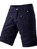 ราคาถูก กางเกงผู้ชาย-สำหรับผู้ชาย พื้นฐาน กางเกงขาสั้น กางเกง - สีพื้น สีน้ำเงินกรมท่า อาร์มี่ กรีน สีกากี 34 36 38