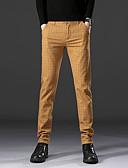 ราคาถูก กางเกงผู้ชาย-สำหรับผู้ชาย พื้นฐาน สูท / กางเกง Chinos กางเกง - ลายสก๊อต / ลายตาราง คลาสสิค สีดำ สีน้ำเงินกรมท่า สีกากี 34 36 38