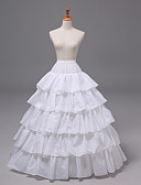 ราคาถูก ที่ยึดโทรศัพท์-เจ้าสาว โลลิต้าแบบคลาสสิก 1950s เป็นชั้น หนึ่งชิ้น ชุดเดรส Petticoat กระโปรงผายก้น สำหรับผู้หญิง เด็กผู้หญิง ตูเล่ เครื่องแต่งกาย ขาว Vintage คอสเพลย์ งานแต่งงาน ปาร์ตี้ เจ้าหญิง