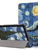 povoljno Maske za mobitele-Θήκη Za Lenovo Lenovo kartica E10 (TB-X104) / Lenovo kartica M10 (TB-X605F) / Lenovo Tab P10 (TB-X705F / L) Otporno na trešnju / Zaokret / Origami Korice Krajolik Tvrdo PU koža