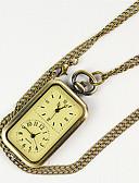 billige Quartz horlogesQuartz-Herre Lommeklokke Quartz Gylden Nytt Design Hverdagsklokke Analog Fritid Mote - Gull