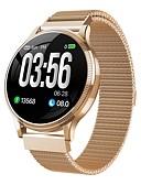 Χαμηλού Κόστους Ανοξείδωτο Ατσάλι-Indear MK08 Γυναικεία Έξυπνο ρολόι Android iOS Bluetooth Smart Αθλητικά Αδιάβροχη Συσκευή Παρακολούθησης Καρδιακού Παλμού Μέτρησης Πίεσης Αίματος