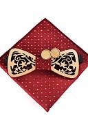 olcso Férfi nyakkendők és csokornyakkendők-Férfi Pöttyös Aktív / Alap - Csokornyakkendő