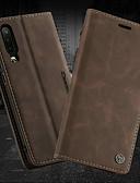 baratos Capinhas para Huawei-Capinha Para Huawei Huawei P30 / Huawei P30 Pro / Huawei P30 Lite Carteira / Porta-Cartão / Com Suporte Capa Proteção Completa Sólido Rígida PU Leather