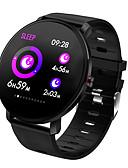 billiga Samsung-tilbehør-k9 smart klocka bt fitness tracker support meddela & pulsmätare full skärm smartwatch för android mobiler och iphone