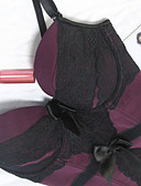 Χαμηλού Κόστους Κάλτσες & Καλσόν-Γυναικεία Κορσές Πάνω στο Στήθος Φούστες - Μονόχρωμο / Sexy Κομψό Θαλασσί Μαύρο Βυσσινί L XL XXL