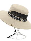 זול כובעים לגברים-כל העונות כחול נייבי אפור ירוק צבא כובע עם שוליים רחבים כובע קש כובע שמש אחיד קולור בלוק כותנה מסיבה פעיל בסיסי יוניסקס