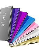 Χαμηλού Κόστους Θήκες / Καλύμματα για Huawei-tok Για Huawei Huawei P20 / Huawei P20 Pro / Huawei P20 lite Επιμεταλλωμένη / Καθρέφτης Πλήρης Θήκη Μονόχρωμο Σκληρή PU δέρμα