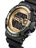 ราคาถูก นาฬิกาสำหรับผู้ชาย-สำหรับผู้ชาย นาฬิกาแนวสปอร์ต นาฬิกาอิเล็กทรอนิกส์ (Quartz) ยาง ดำ 30 m ปฏิทิน นาฬิกาใส่ลำลอง ดิจิตอล ความหรูหรา แฟชั่น - แดง สีเขียว ฟ้า หนึ่งปี อายุการใช้งานแบตเตอรี่