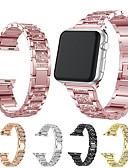 billige Smartwatch Bands-Klokkerem til Apple Watch Series 5/4/3/2/1 Apple Moderne spenne Rustfritt stål Håndleddsrem