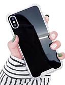 זול מגנים לטלפון-מגן עבור Apple iPhone XS / iPhone XR / iPhone XS Max עמיד בזעזועים / עמיד במים / מראה כיסוי אחורי אחיד קשיח TPU