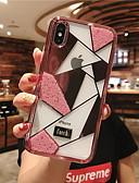 povoljno iPhone maske-Θήκη Za Apple iPhone XR / iPhone XS Max / iPhone X Štras Stražnja maska Geometrijski uzorak Tvrdo Kaljeno staklo