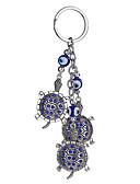 זול טוקסידו-שרשרת מפתחות צָב Fashion Ring תכשיטים כחול כהה עבור קזו'אל יומי