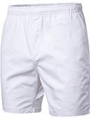 ราคาถูก กางเกงผู้ชาย-สำหรับผู้ชาย พื้นฐาน ขนาดพิเศษ กางเกง Chinos / กางเกงขาสั้น กางเกง - สีพื้น สีน้ำเงินกรมท่า สีบานเย็น สีกากี XXL XXXL XXXXL