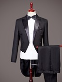 povoljno Odijela-Tuxedos Standardni kroj Šiljasti No Button Najlon Jednobojni