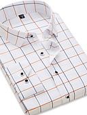 povoljno Muške košulje-Majica Muškarci - Osnovni Galaksija Slim, Nabori Navy Plava