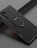 ราคาถูก เคสสำหรับโทรศัพท์มือถือ-Case สำหรับ Huawei Huawei P20 / Huawei P20 Pro / Huawei P20 lite ที่แขวนห่วง ปกหลัง สีพื้น Hard พีซี