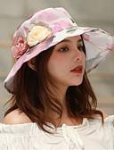 זול בגדי ים במידות גדולות-אביב קיץ סגול יין כחול בהיר כובע דלי פרחוני קולור בלוק רשת מסיבה סגנון חמוד בגדי ריקוד נשים