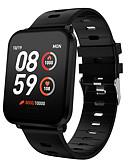 billiga Samsung-tilbehør-KING-WEAR® K10 Män kvinnor Smart Armband Android iOS Bluetooth Vattentät Pekskärm Hjärtfrekvensmonitor Blodtrycksmått Sport Stoppur Tidtagarur Stegräknare Samtalspåminnelse Aktivitetsmonitor