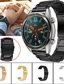 Χαμηλού Κόστους Smartwatch Bands-Παρακολουθήστε Band για Huawei Watch GT / Watch 2 Pro Huawei Αθλητικό Μπρασελέ Μέταλλο / Ανοξείδωτο Ατσάλι Λουράκι Καρπού