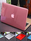 Χαμηλού Κόστους Αξεσουάρ MacBook-στερεό χρωματιστό κρυστάλλινο ημιδιαφανές κάλυμμα για Macbook pro air retina 11/12/13/15 inch (a1278-a1989) πλαστικό σκληρό περίβλημα