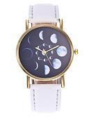 ราคาถูก นาฬิกาควอตซ์-สำหรับผู้หญิง นาฬิกาควอตส์ นาฬิกาอิเล็กทรอนิกส์ (Quartz) สไตล์สมัยใหม่ สไตล์ PU Leather ดำ / แดง / น้ำตาล 30 m นาฬิกาใส่ลำลอง น่ารัก ระบบอนาล็อก ไม่เป็นทางการ แฟชั่น -  / หนึ่งปี