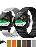 ราคาถูก วง Smartwatch-สายนาฬิกา สำหรับ Huami Amazfit A1602 / นาฬิกา Huami Amazfit Pace / Huami Amazfit Stratos Smart Watch 2/2S Xiaomi สายยางสำหรับเส้นกีฬา ไนลอน สายห้อยข้อมือ