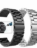 Χαμηλού Κόστους Smartwatch Bands-Παρακολουθήστε Band για Gear S3 Frontier / Gear S3 Classic / Samsung Galaxy Watch 46 Samsung Galaxy Αθλητικό Μπρασελέ / Μιλανέζικη Πλέξη / πεταλούδα πόρπης Μέταλλο / Ανοξείδωτο Ατσάλι Λουράκι Καρπού
