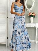זול שמלות מקסי-מקסי דפוס, פרחוני - שמלה סווינג בוהו בגדי ריקוד נשים