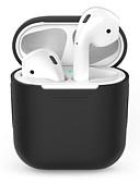 billiga Smartwatch-fodral-Väskor, Skydd och Fodral / Hörlursfodral Silikon Svart / Rubinrött / Rodnande Rosa 1 pcs