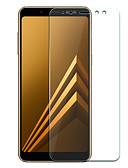 povoljno Zaštitne folije za iPhone-Samsung GalaxyScreen ProtectorA8 2018 Visoka rezolucija (HD) Prednja zaštitna folija 1 kom. Kaljeno staklo