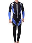 ราคาถูก ชุดดำน้ำ-Dive&Sail สำหรับผู้ชาย Wetsuits เต็ม 3mm Neoprene ชุดดำน้ำ ระบายอากาศ แห้งเร็ว ออกแบบตามสรีระ แขนสั้น การว่ายน้ำ การดำน้ำ คลาสสิก ฤดูร้อน / ยืด