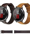 ราคาถูก วง Smartwatch-สายนาฬิกา สำหรับ Huami Amazfit A1602 / นาฬิกา Huami Amazfit Pace / Huami Amazfit Stratos Smart Watch 2/2S Xiaomi สายยางสำหรับเส้นกีฬา สแตนเลส / หนัง สายห้อยข้อมือ