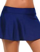 baratos Saias Femininas-Mulheres Activo Básico Mini Evasê Saias - Sólido Tricôt Cinzento Azul Claro Azul Real M L XL