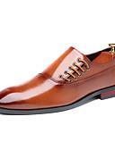 Χαμηλού Κόστους Αντρικά Μπλέιζερ & Κοστούμια-Ανδρικά Τα επίσημα παπούτσια Συνθετικά Φθινόπωρο / Ανοιξη καλοκαίρι Δουλειά / Καθημερινό Oxfords Μη ολίσθηση Μαύρο / Καφέ / Κρασί / Φούντα / Φούντα / Φόρεμα Παπούτσια