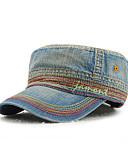 ราคาถูก หมวกสุภาพบุรุษ-ทุกเพศ ลายบล็อคสี เดนิม พื้นฐาน-หมวกเบสบอล ทุกฤดู สีน้ำเงินกรมท่า สีฟ้า สีน้ำเงินกรมท่า